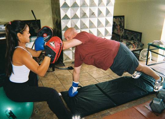 Evanston Personal Training Core Strength and Boxing